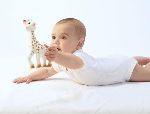 Sophie la Girafe met baby